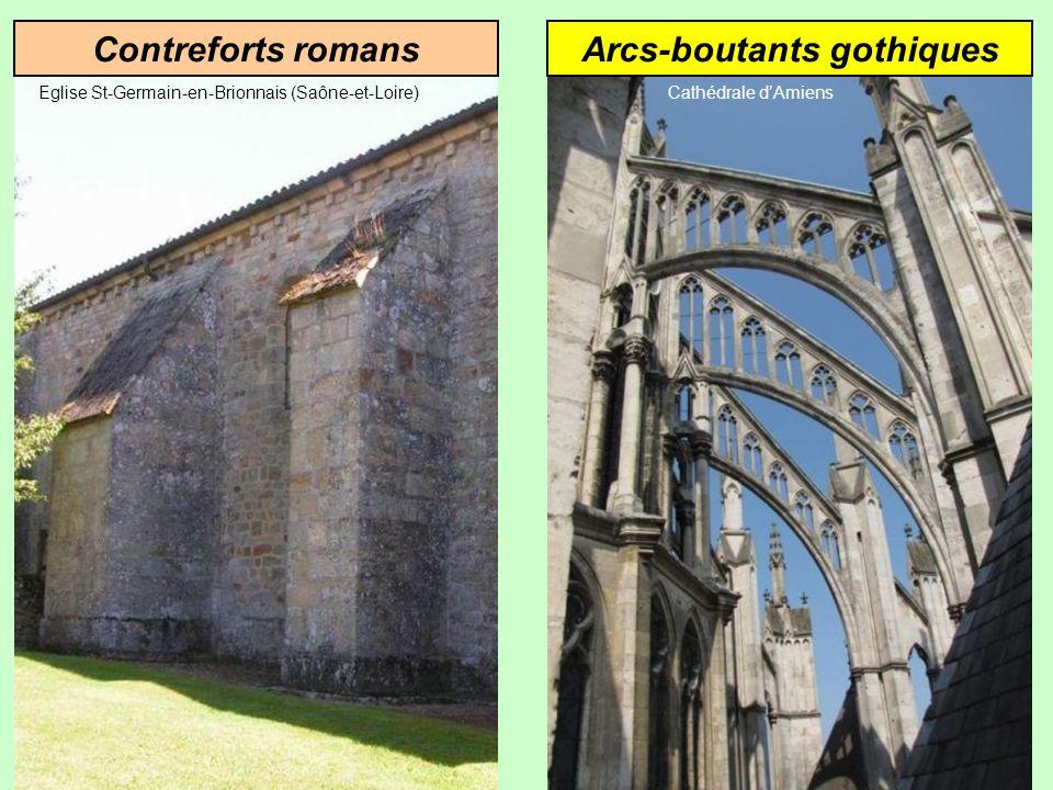 Arcs-boutants gothiques