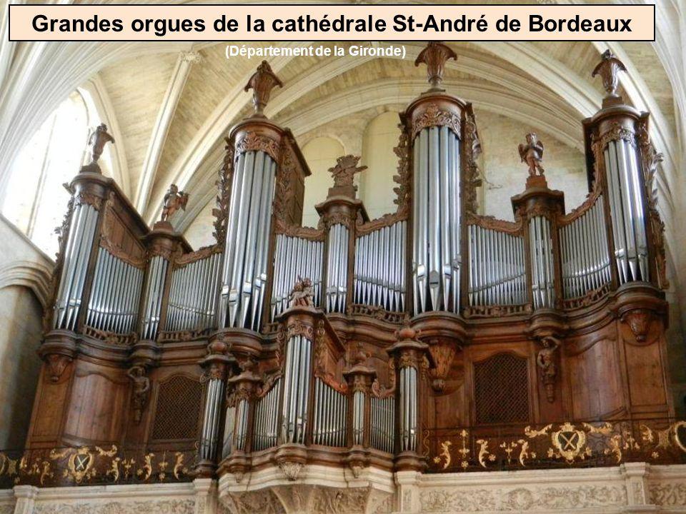 Grandes orgues de la cathédrale St-André de Bordeaux