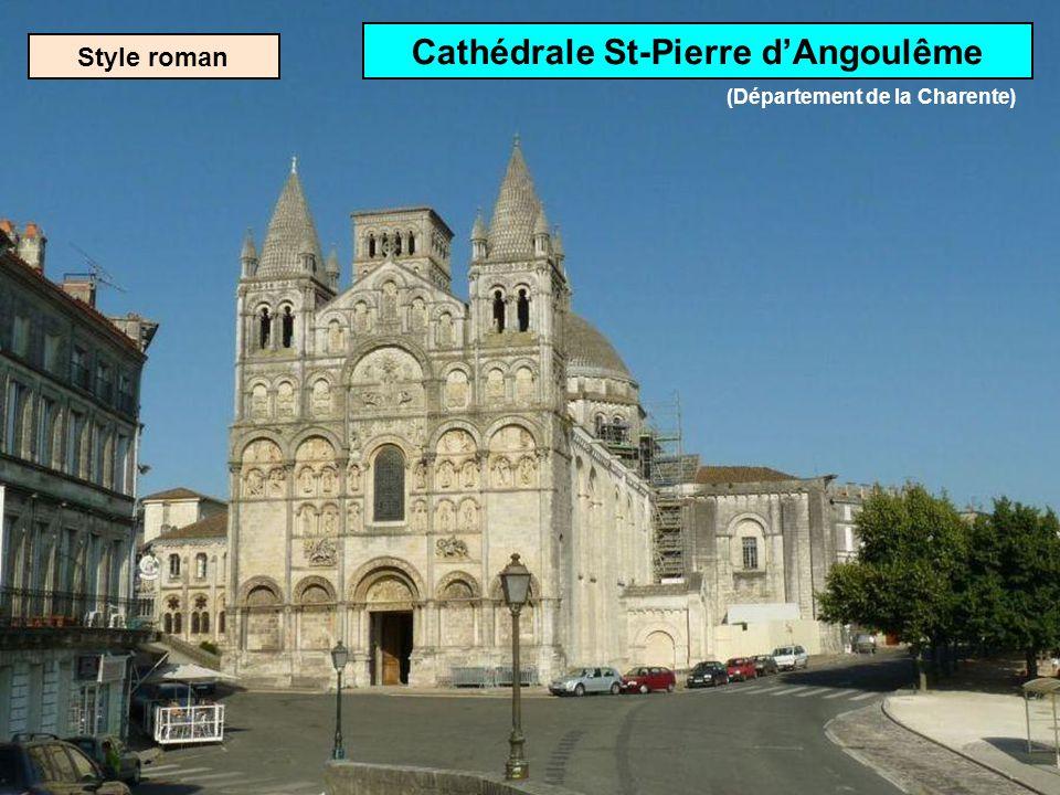 Cathédrale St-Pierre d'Angoulême (Département de la Charente)