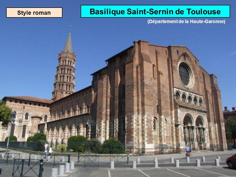 Basilique Saint-Sernin de Toulouse (Département de la Haute-Garonne)
