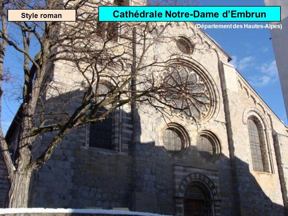 Cathédrale Notre-Dame d'Embrun (Département des Hautes-Alpes)