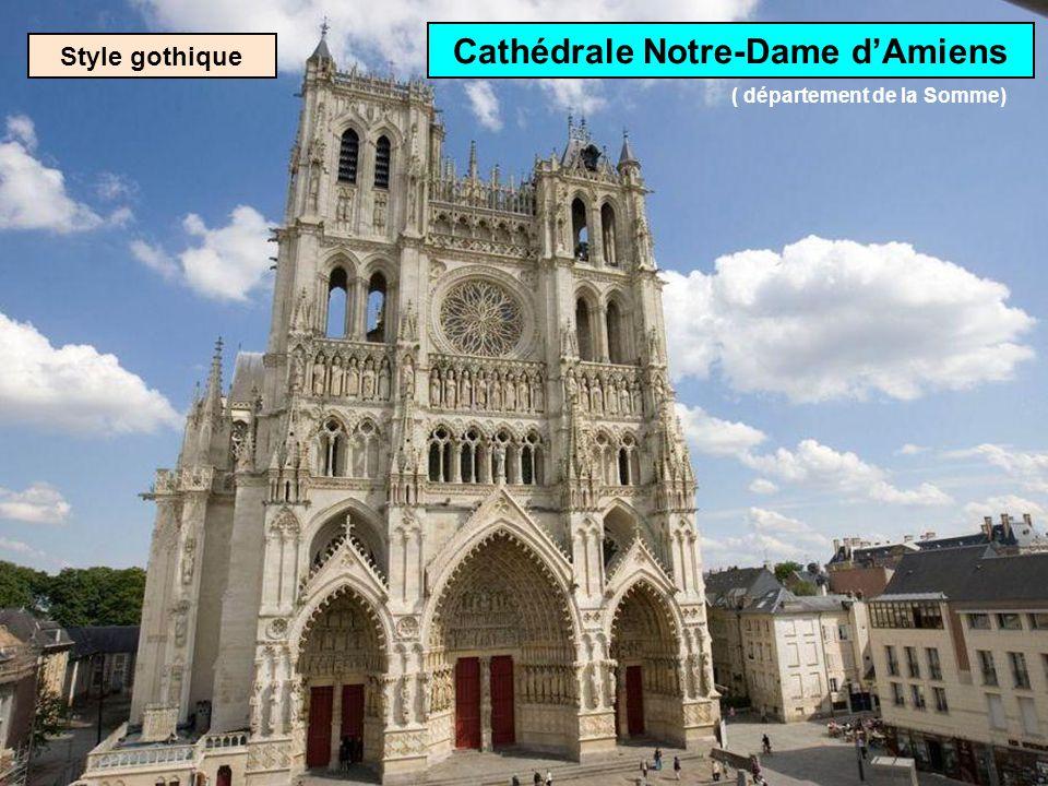 Cathédrale Notre-Dame d'Amiens ( département de la Somme)