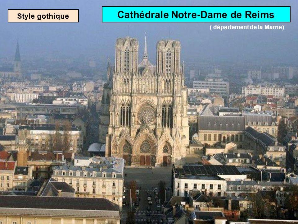Cathédrale Notre-Dame de Reims ( département de la Marne)