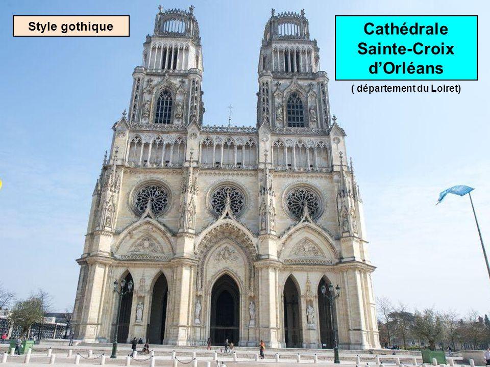 Cathédrale Sainte-Croix d'Orléans ( département du Loiret)