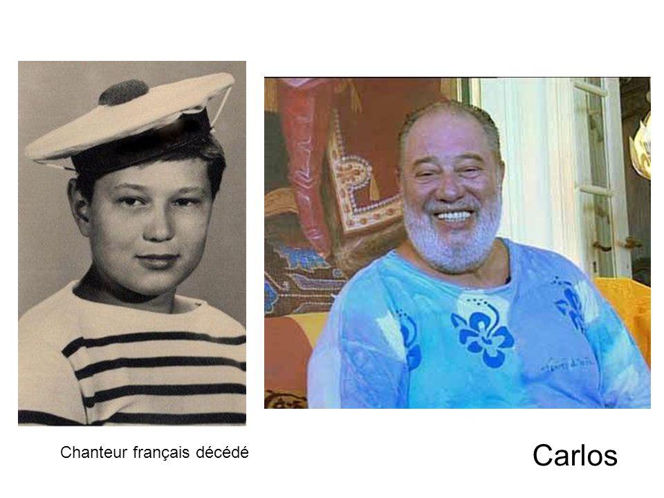 Chanteur français décédé