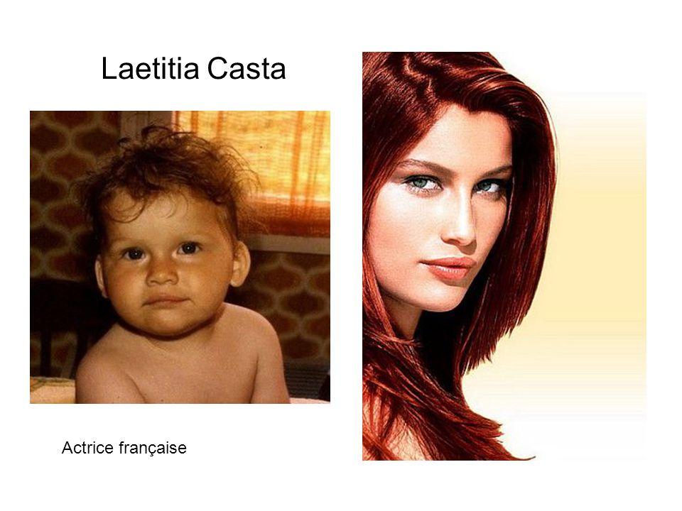 Laetitia Casta Actrice française