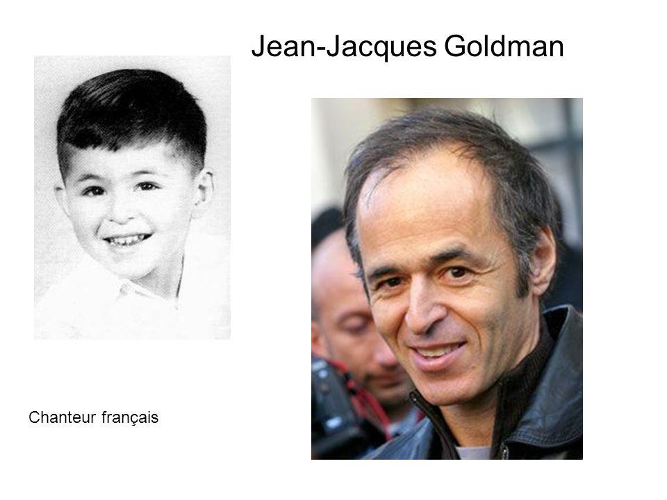 Jean-Jacques Goldman Chanteur français