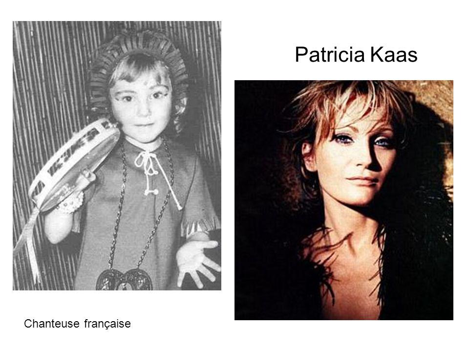 Patricia Kaas Chanteuse française
