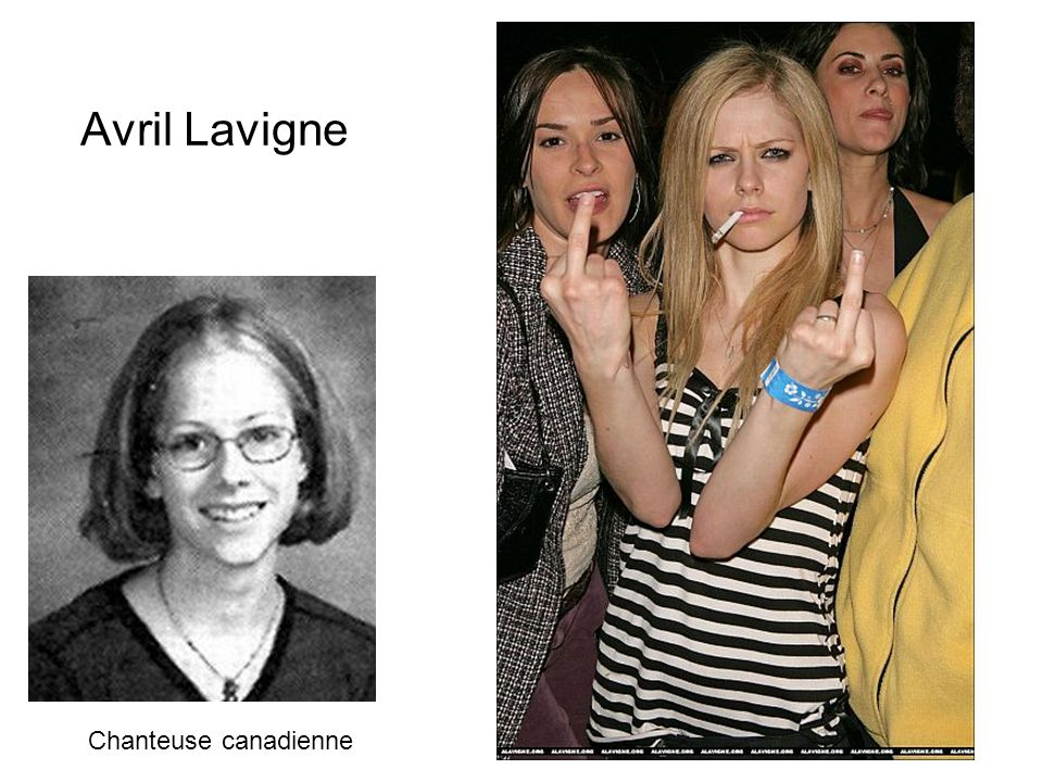 Avril Lavigne Chanteuse canadienne