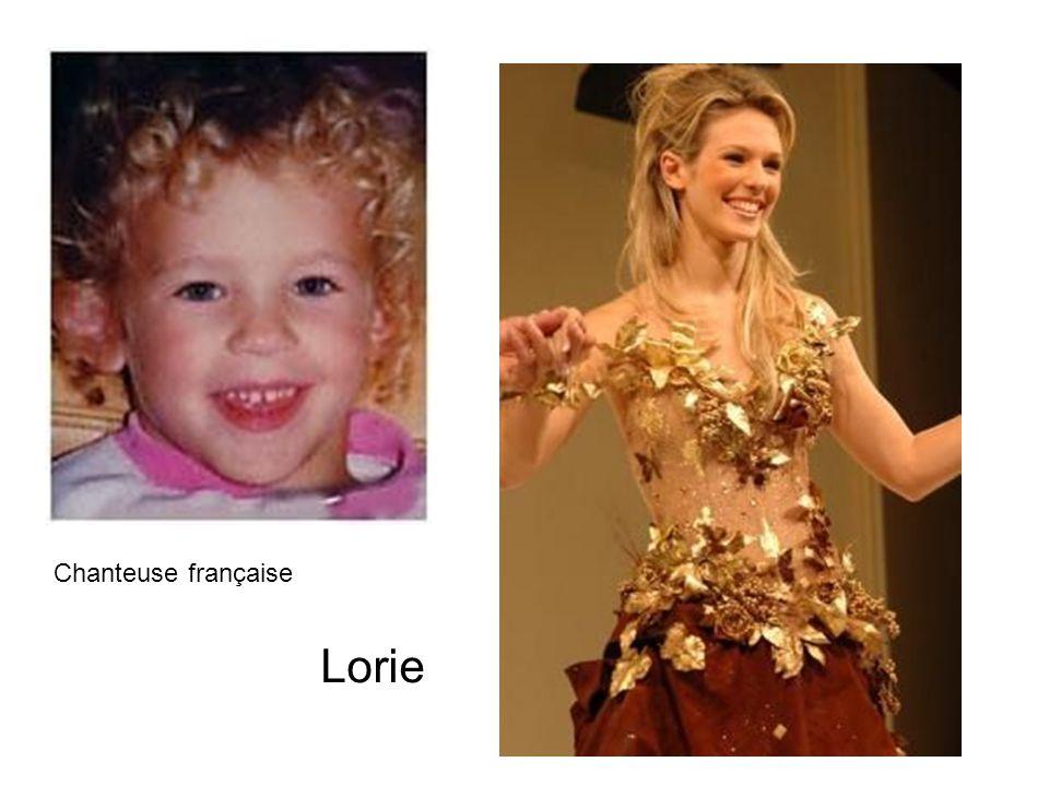 Chanteuse française Lorie