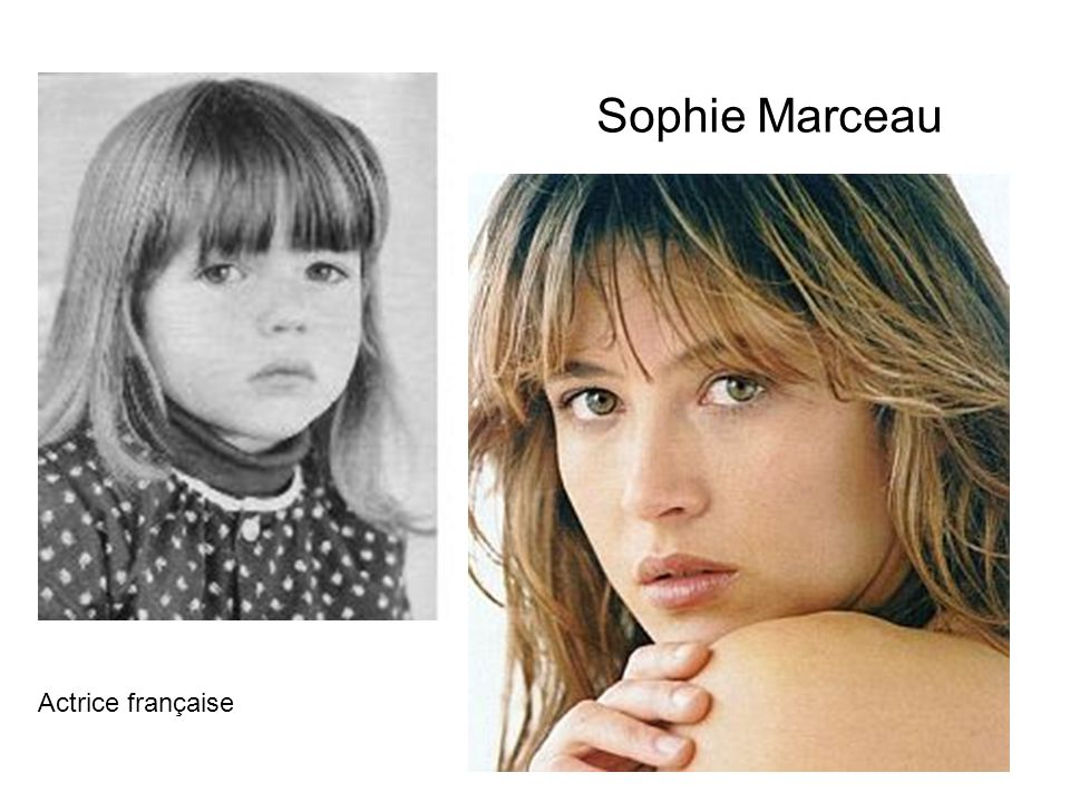 Sophie Marceau Actrice française