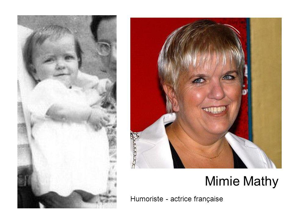 Mimie Mathy Humoriste - actrice française