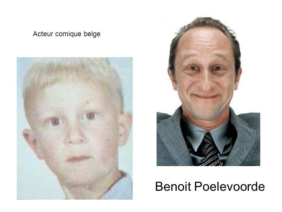 Acteur comique belge Benoit Poelevoorde