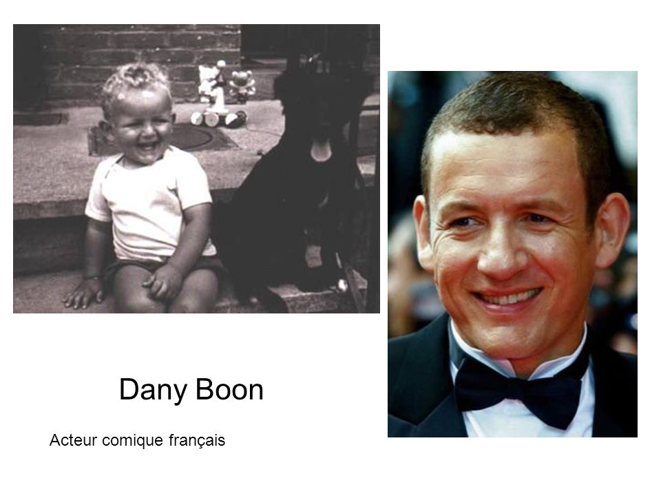 Dany Boon Acteur comique français