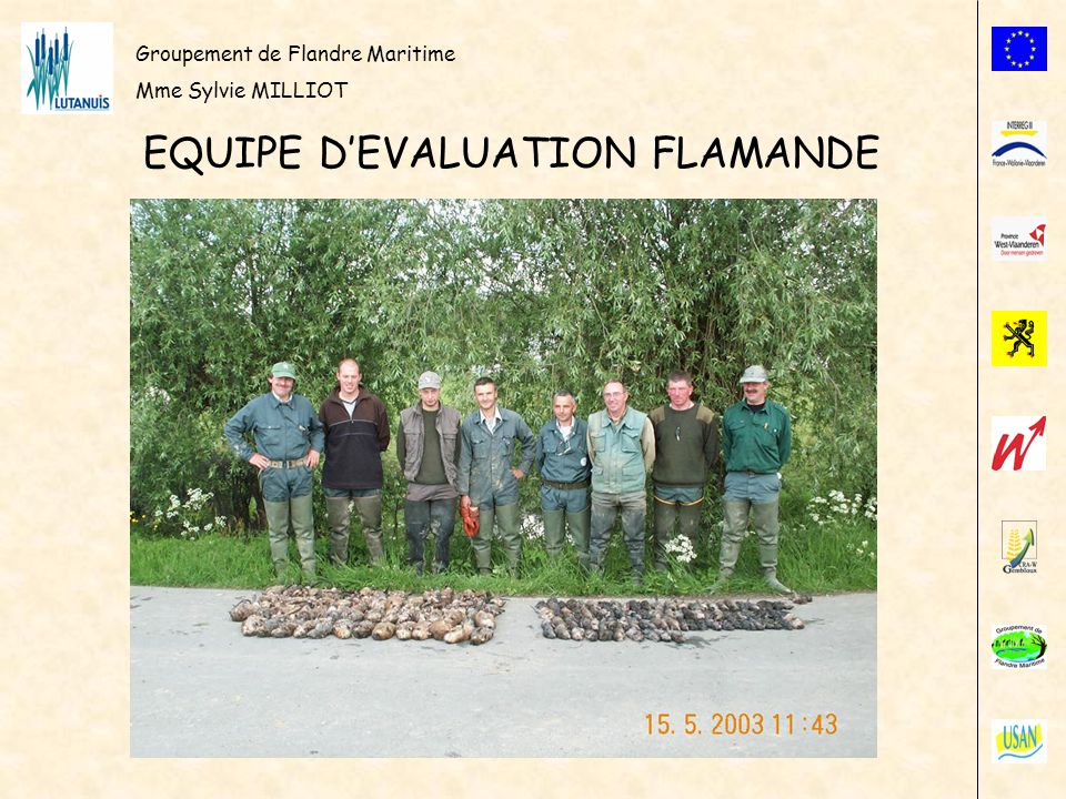 EQUIPE D'EVALUATION FLAMANDE