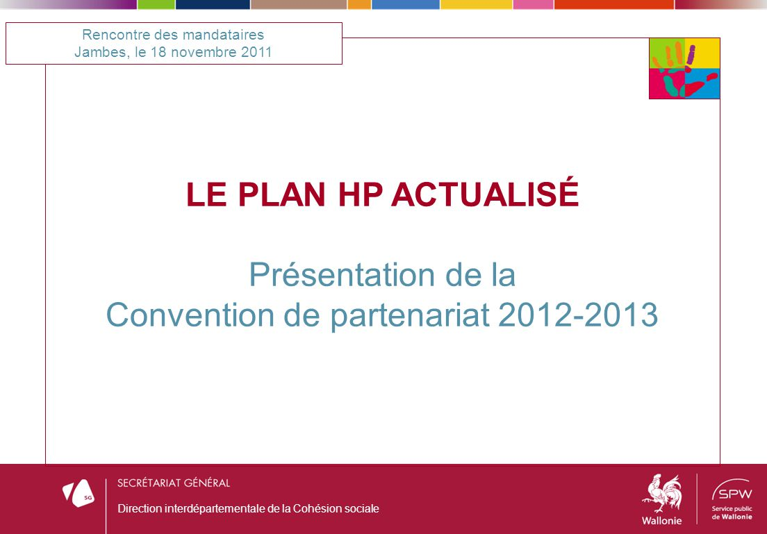 Convention de partenariat 2012-2013