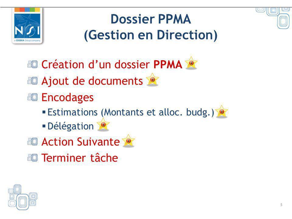 Dossier PPMA (Gestion en Direction)