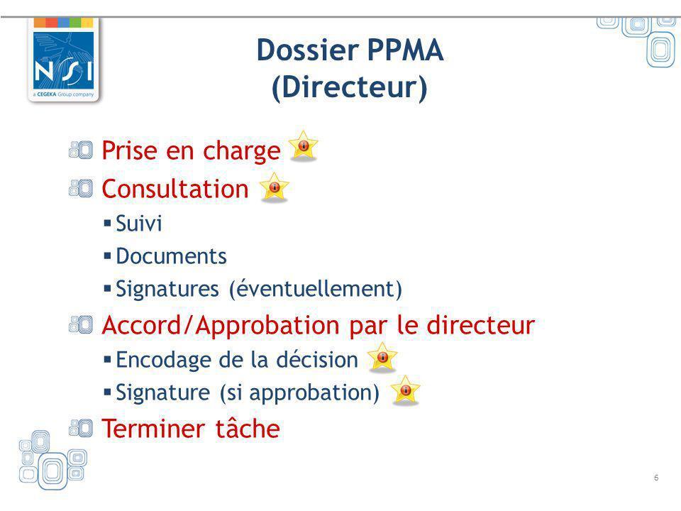 Dossier PPMA (Directeur)