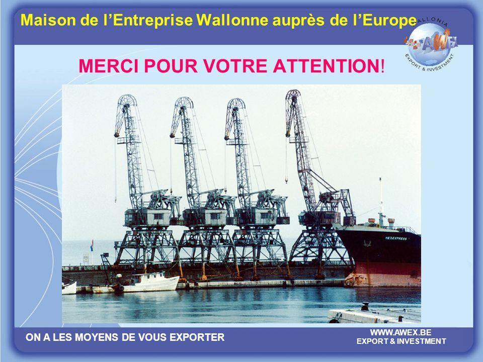Maison de l'Entreprise Wallonne auprès de l'Europe
