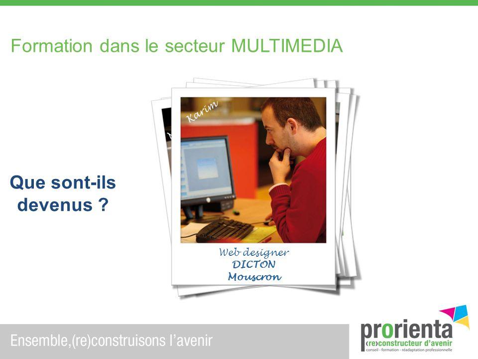 Infographiste - Secrétaire
