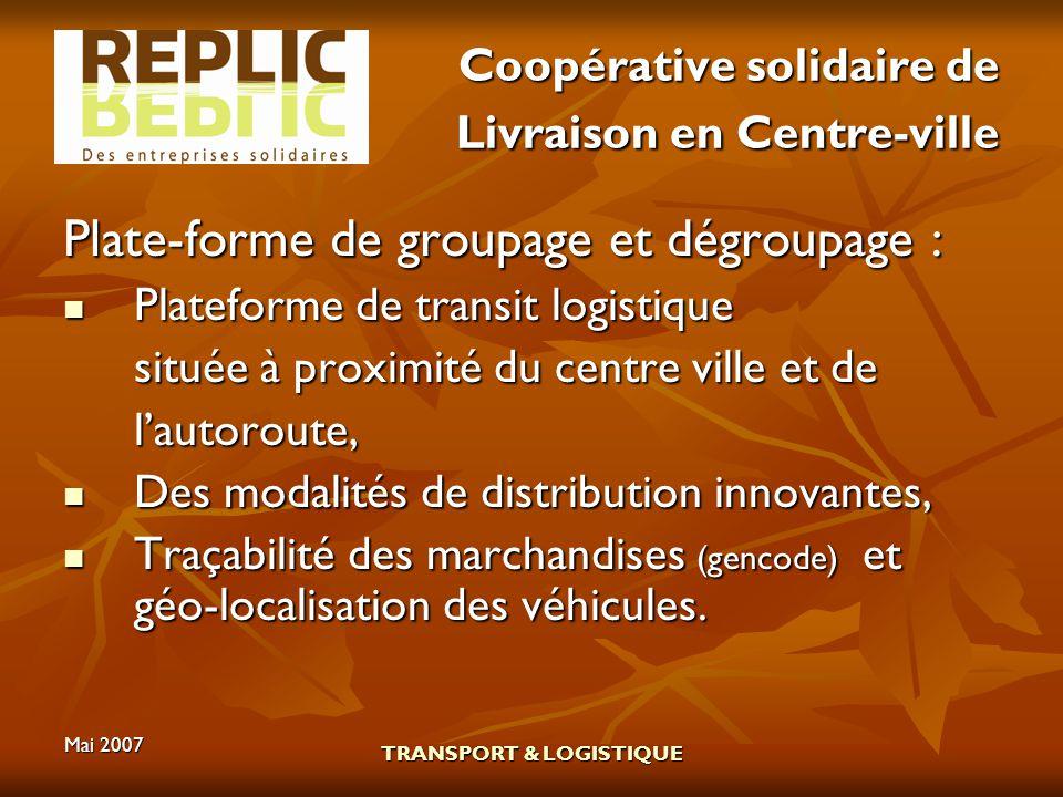 Coopérative solidaire de Livraison en Centre-ville