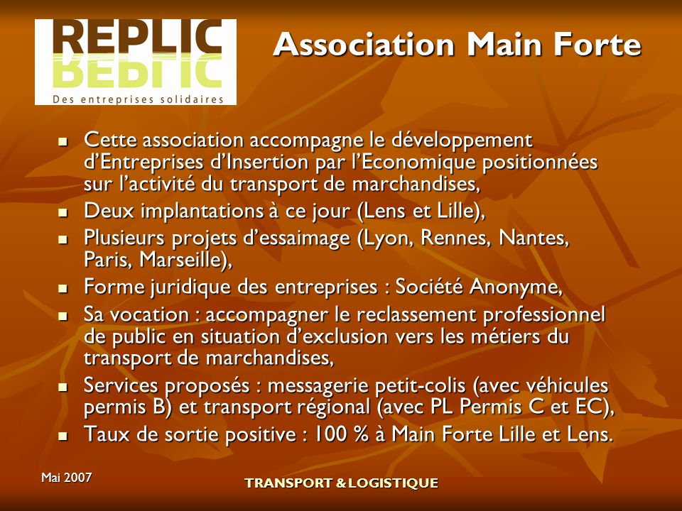 Association Main Forte