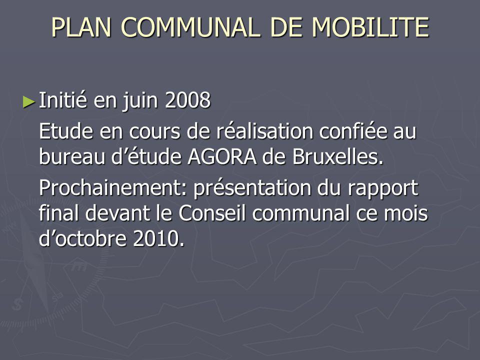 PLAN COMMUNAL DE MOBILITE