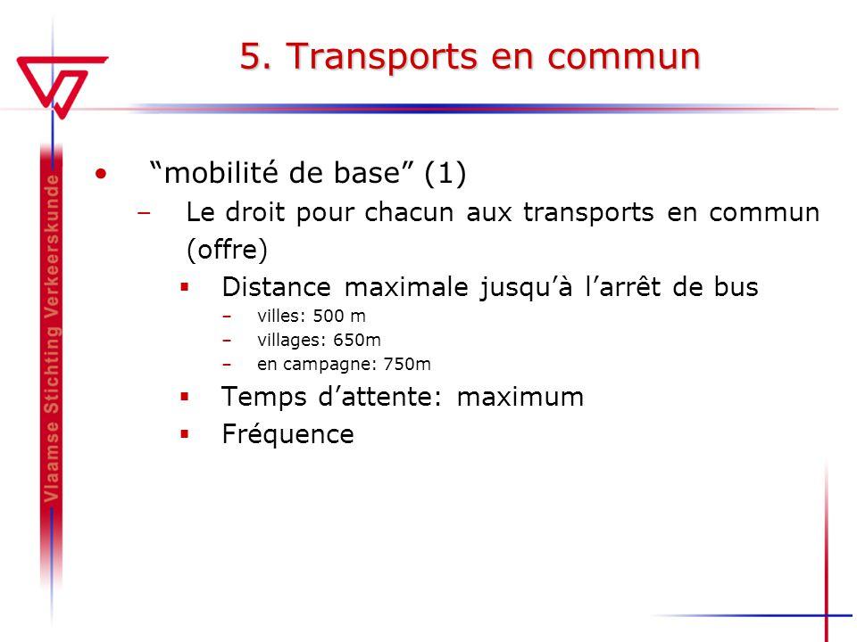5. Transports en commun mobilité de base (1)