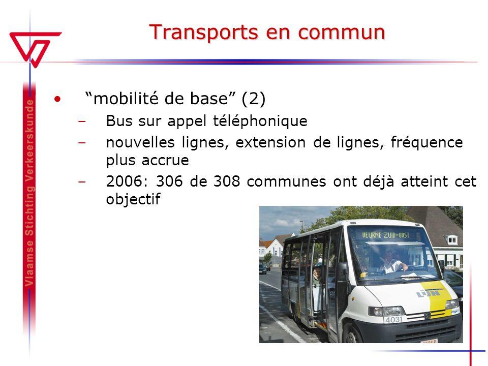 Transports en commun mobilité de base (2) Bus sur appel téléphonique