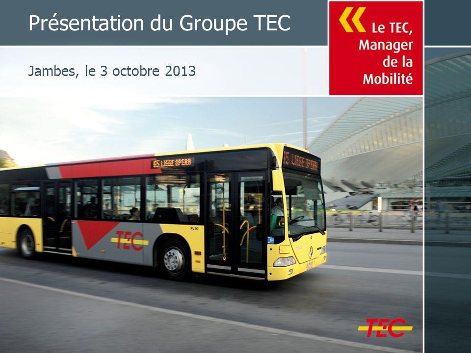 Présentation du Groupe TEC