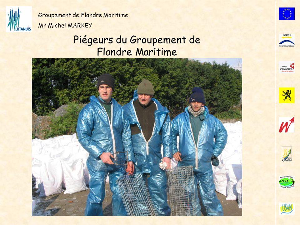 Piégeurs du Groupement de Flandre Maritime