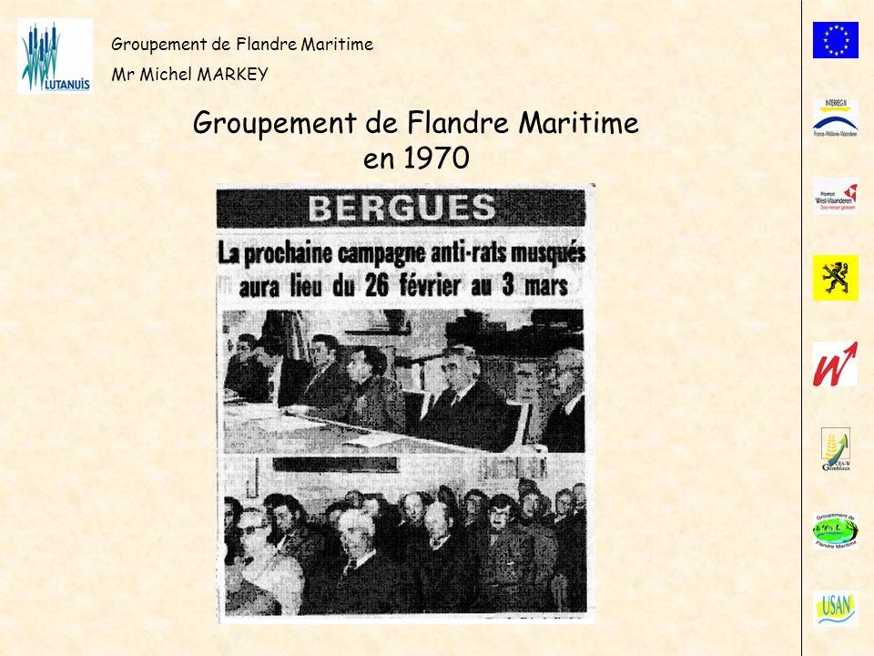 Groupement de Flandre Maritime en 1970