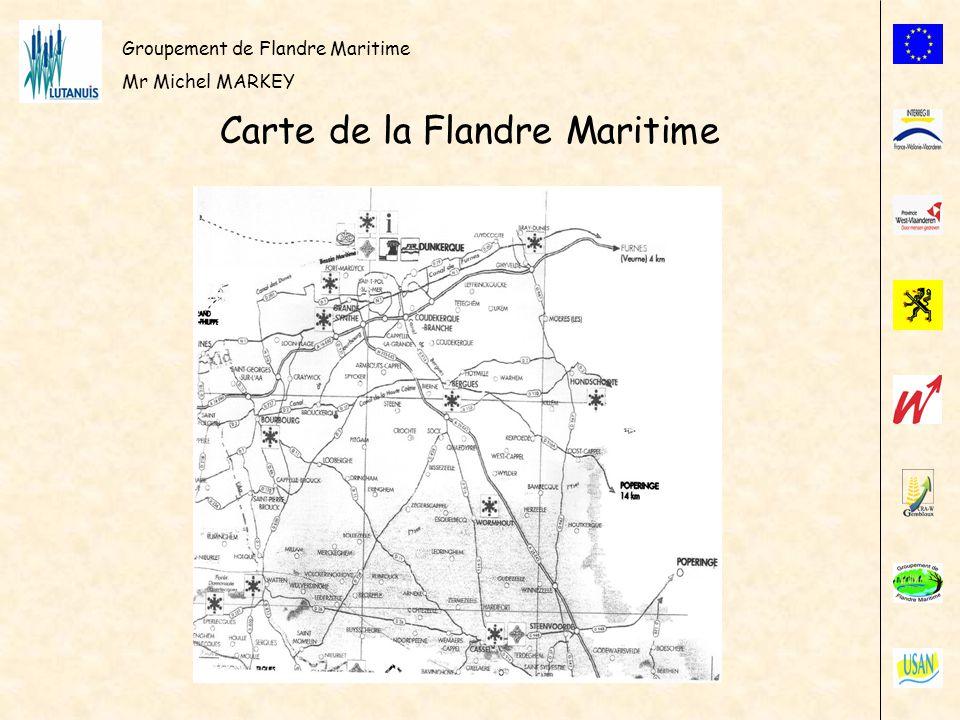 Carte de la Flandre Maritime