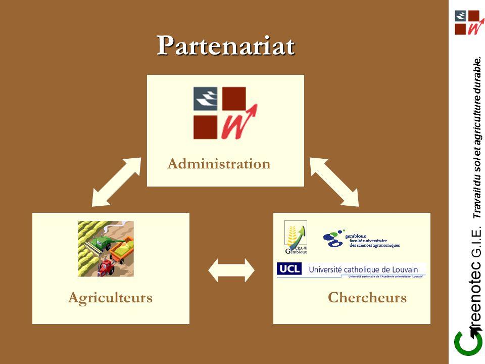 Partenariat Administration Agriculteurs Agriculteurs Chercheurs