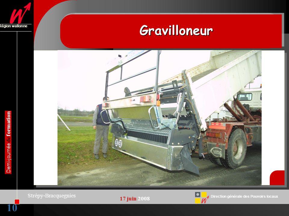 Gravilloneur 10 Strépy-Bracquegnies 17 juin 2008