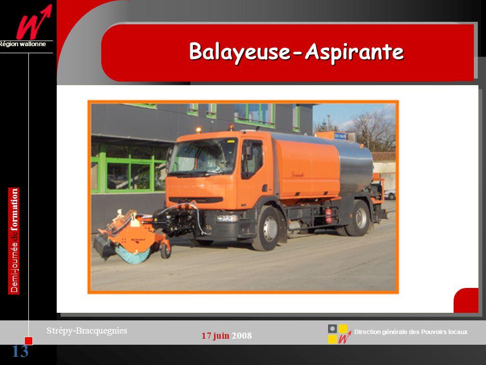 Balayeuse-Aspirante 13 Strépy-Bracquegnies 17 juin 2008