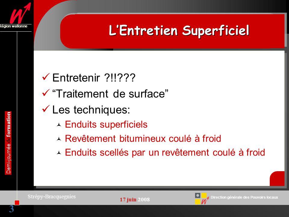 L'Entretien Superficiel