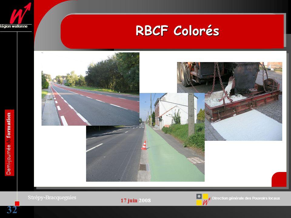 RBCF Colorés 32 Strépy-Bracquegnies 17 juin 2008
