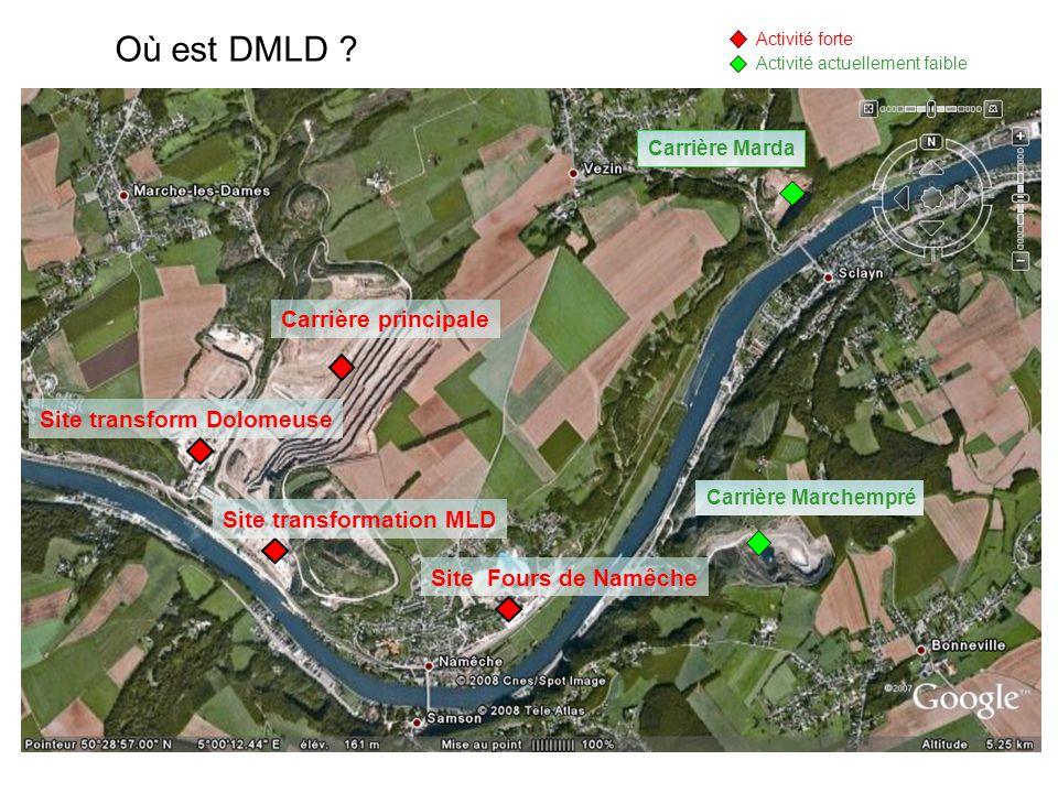 Où est DMLD Carrière principale Site transform Dolomeuse