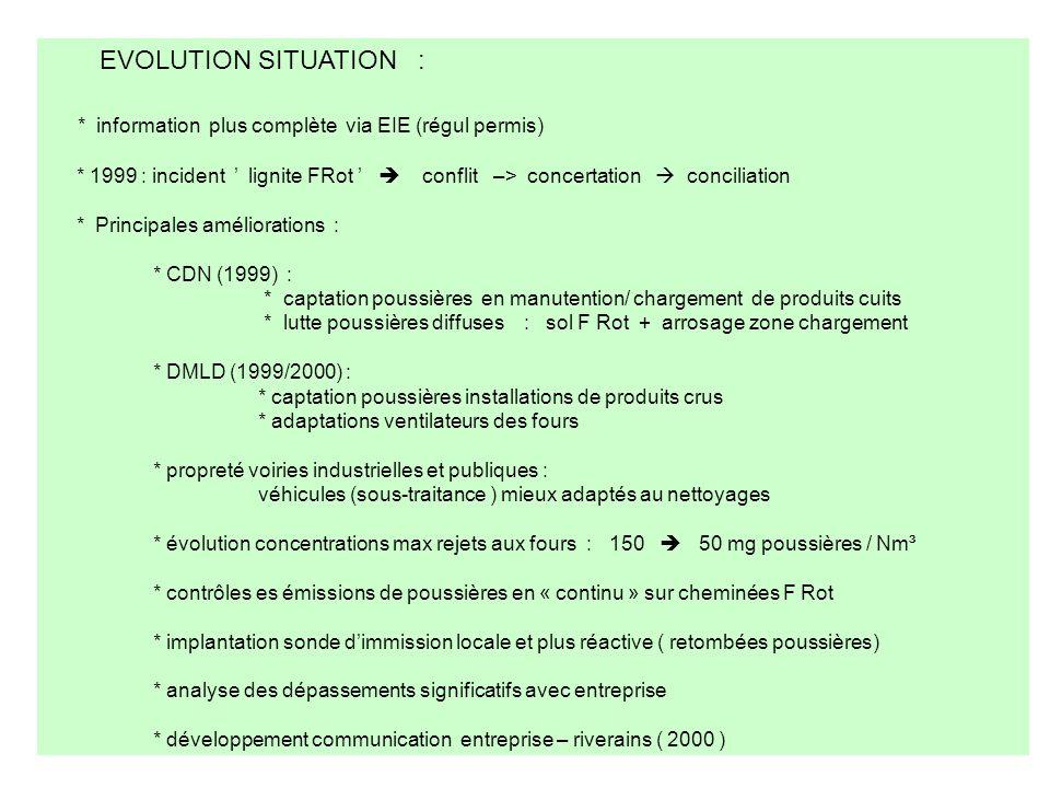 * information plus complète via EIE (régul permis)