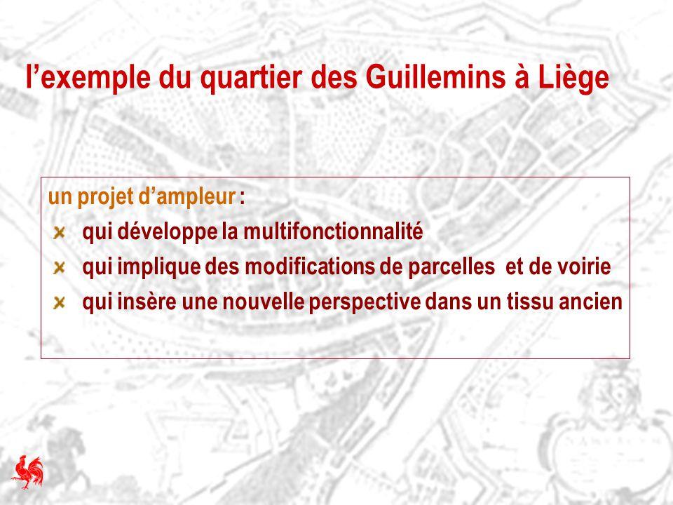 l'exemple du quartier des Guillemins à Liège
