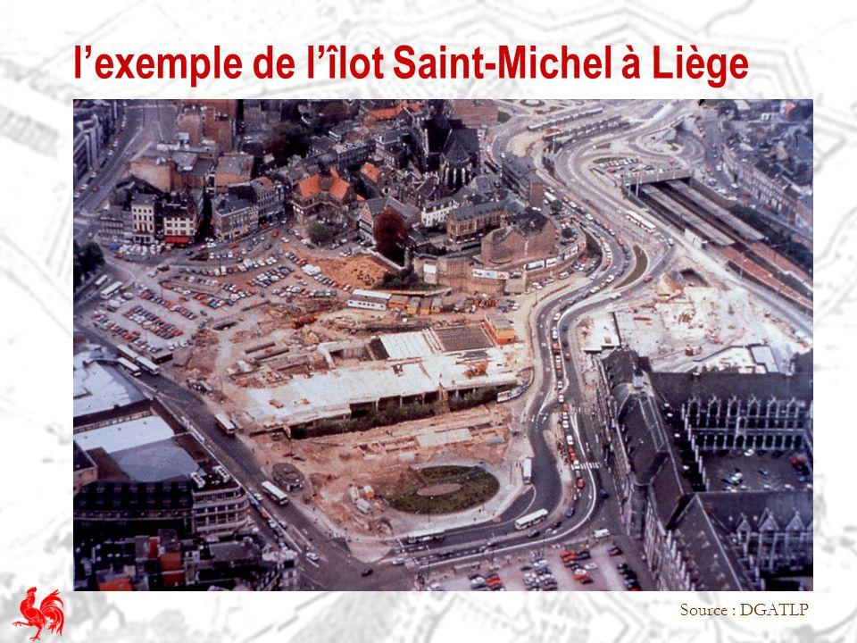 l'exemple de l'îlot Saint-Michel à Liège