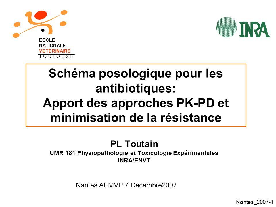 UMR 181 Physiopathologie et Toxicologie Expérimentales
