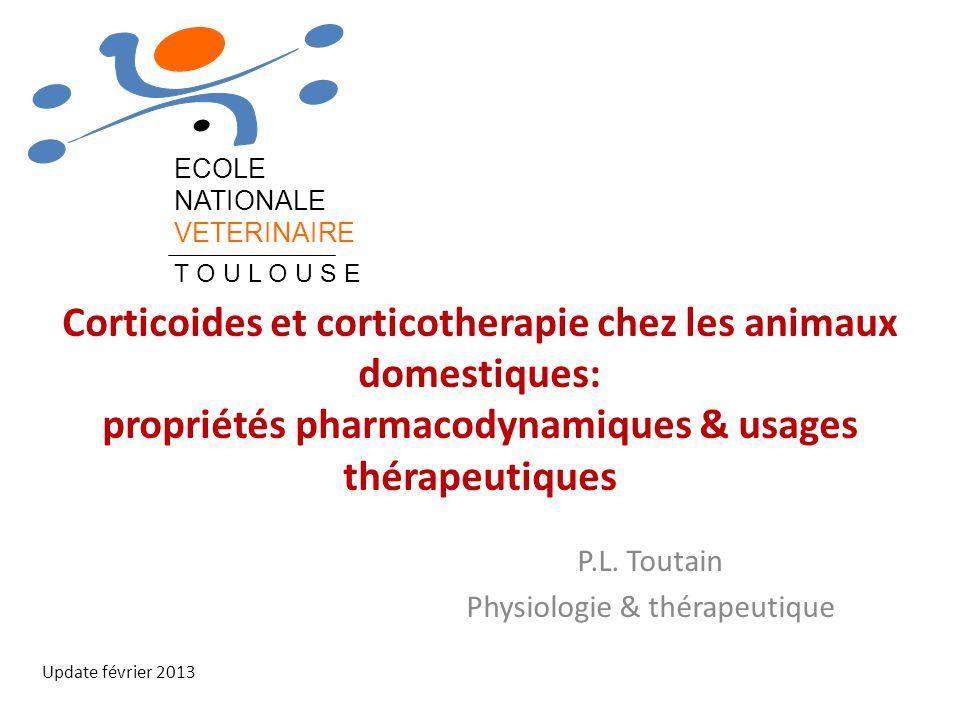 P.L. Toutain Physiologie & thérapeutique