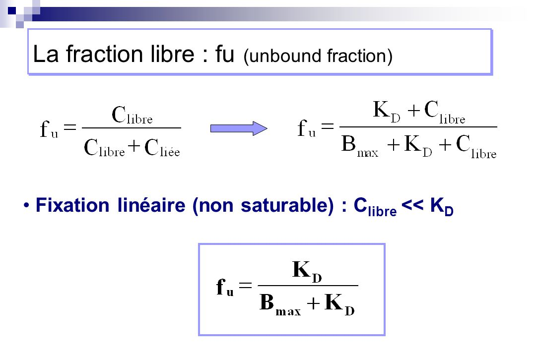 La fraction libre : fu (unbound fraction)