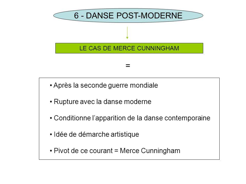 LE CAS DE MERCE CUNNINGHAM