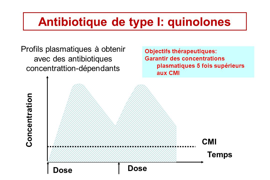 Antibiotique de type I: quinolones