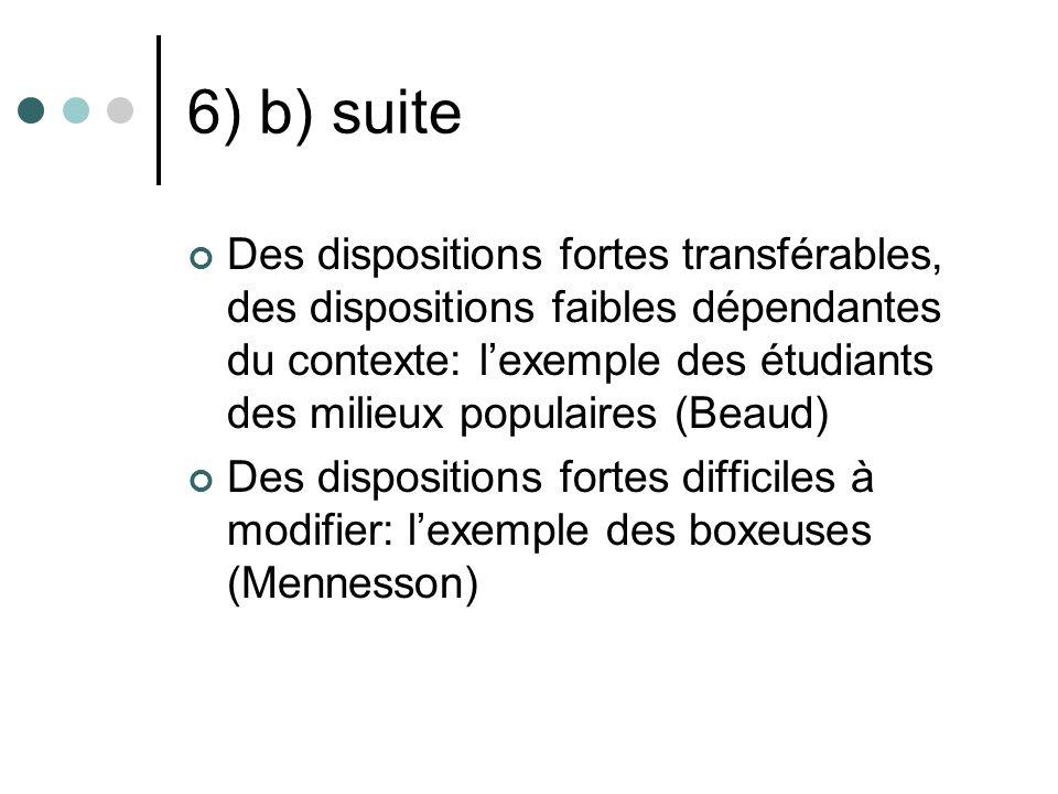 6) b) suite