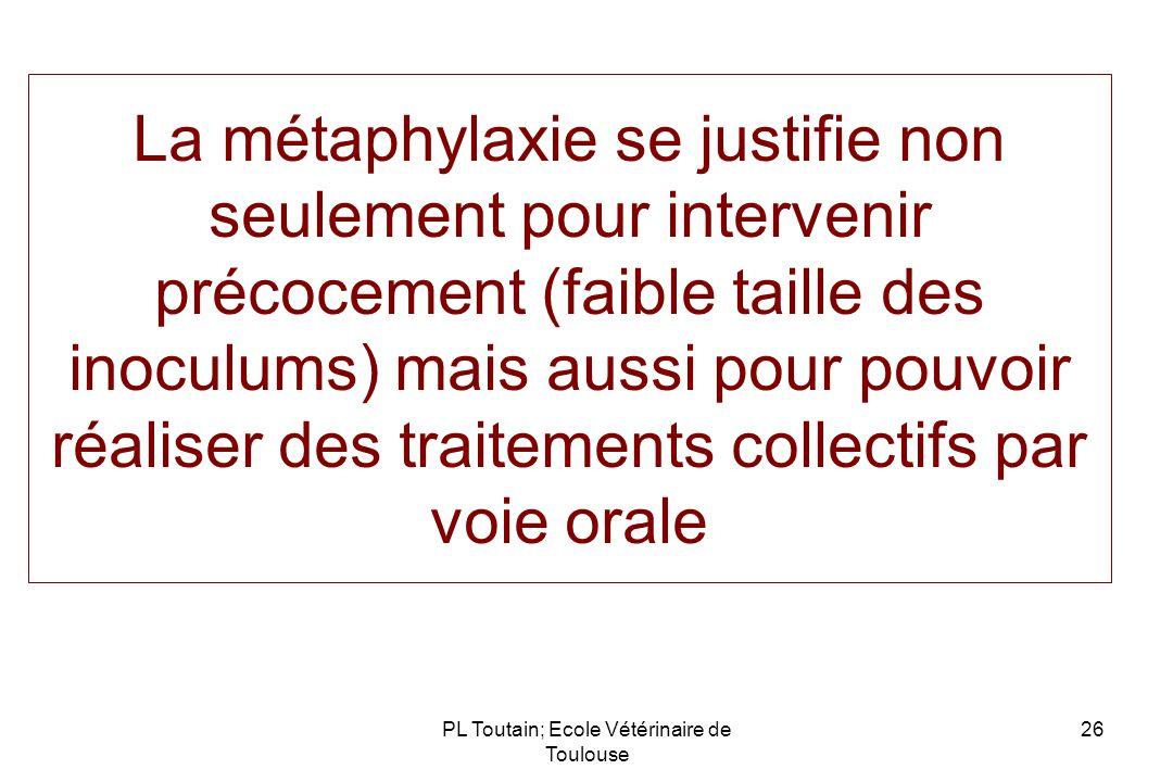 PL Toutain; Ecole Vétérinaire de Toulouse
