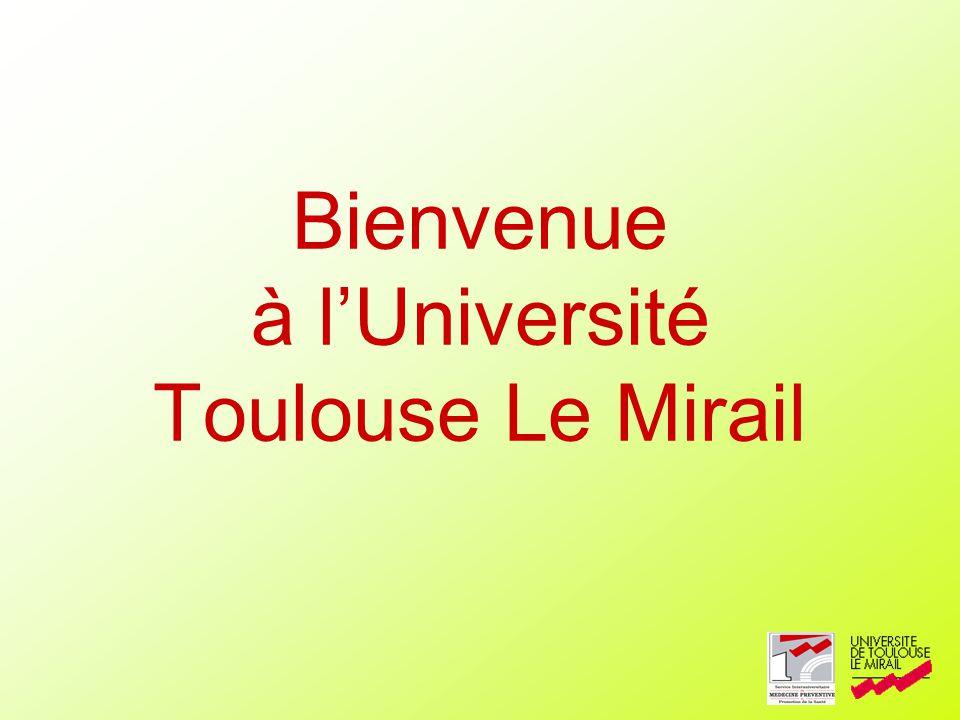 Bienvenue à l'Université Toulouse Le Mirail